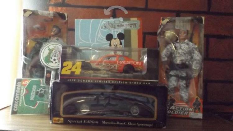 Lote juguetes y carros colección (niño)