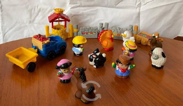 Parque de diversiones y granja de little people
