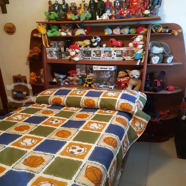 Recamara individual doble cama