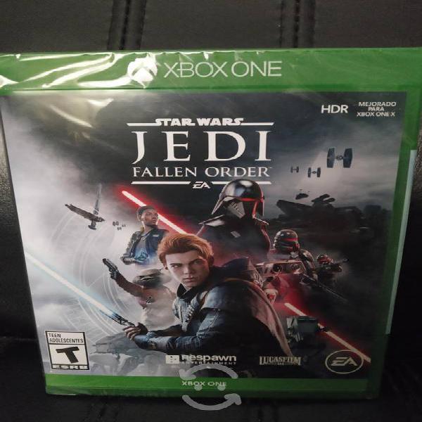 Star wars Jedi fallen order Xbox one nuevo sellado