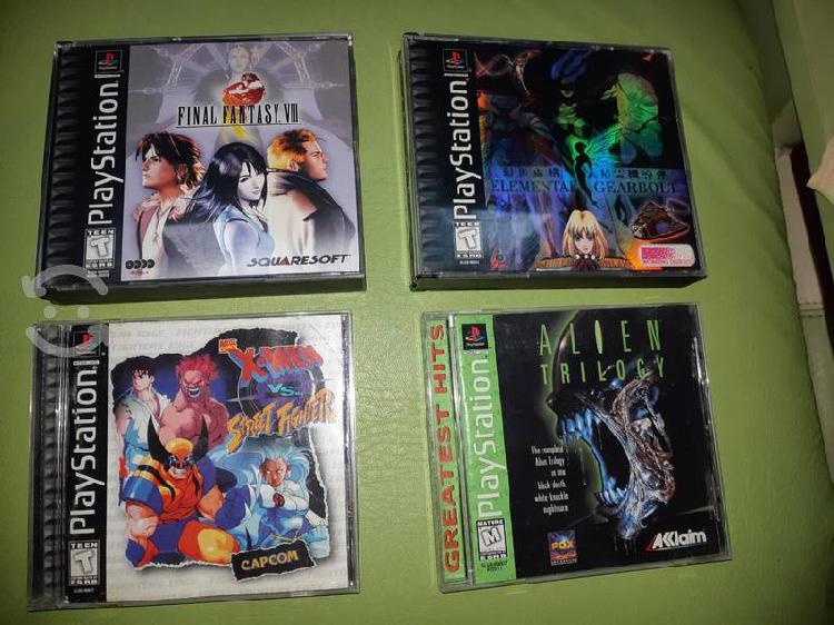 Colección juegos playstation 1