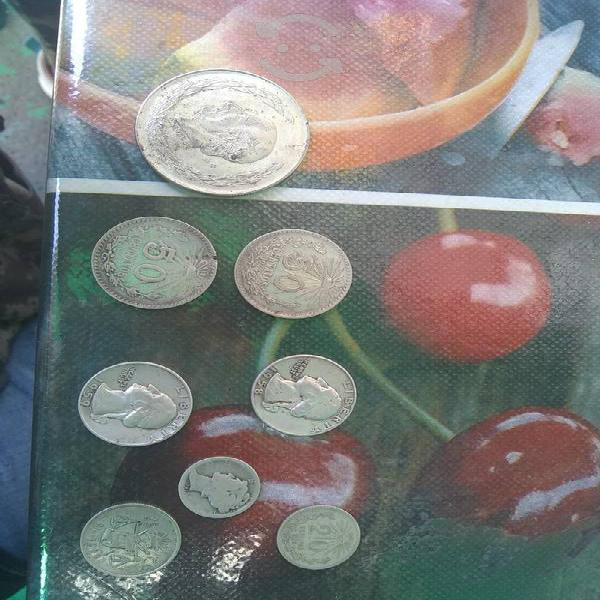 Lote de exelentes monedas de plata antiguas