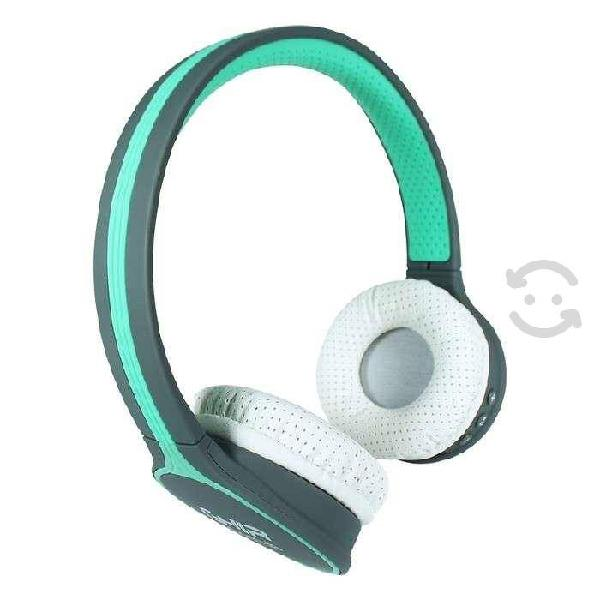 Audifonos diadema bluetooth ghia n1 hifi sound azu
