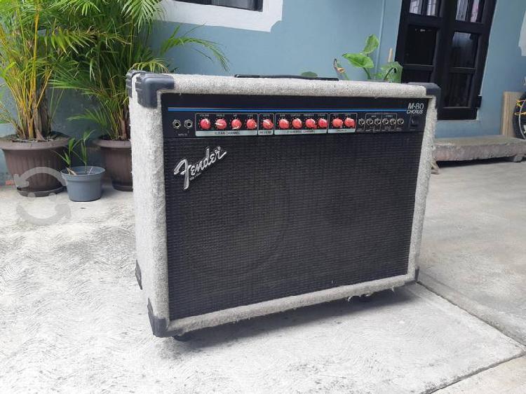 Amplificador fender m-80 chorus