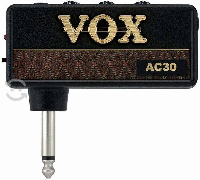 Amplificador amplug vox ac30 p/ guitarra eléctrica