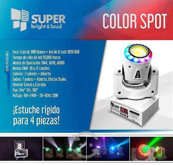 Cabezas móviles color spot super bright & loud