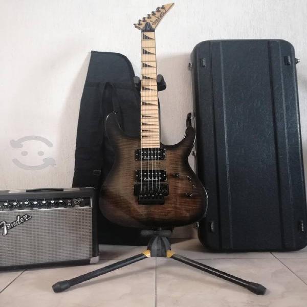Guitarra eléctrica jackson +kit