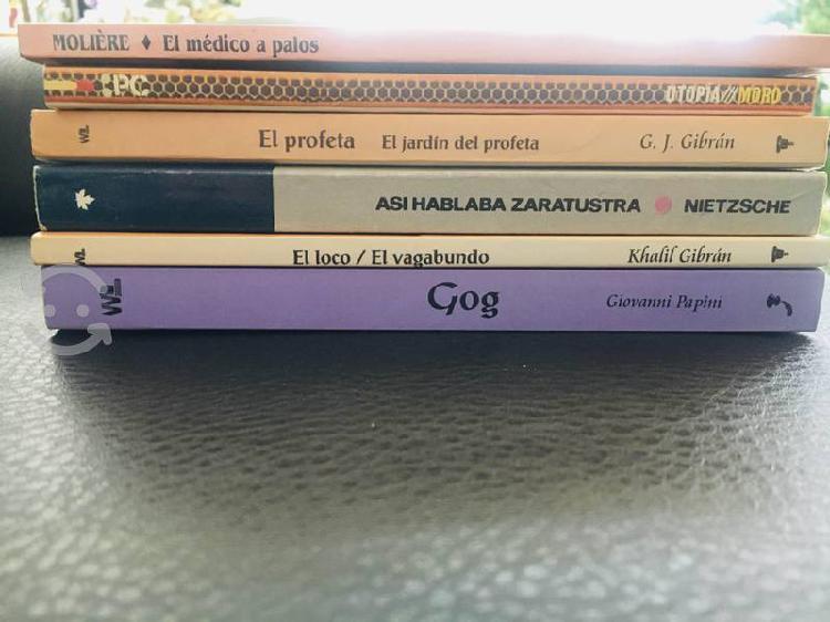 Libros de literatura universal