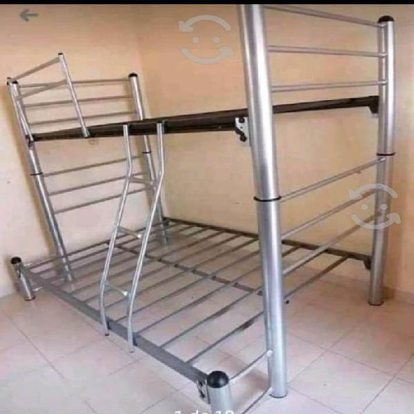 Literas con más espacio entre cama y cama