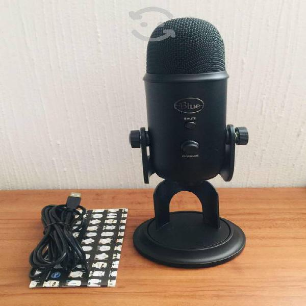 Micrófono blue yeti 2070 color negro