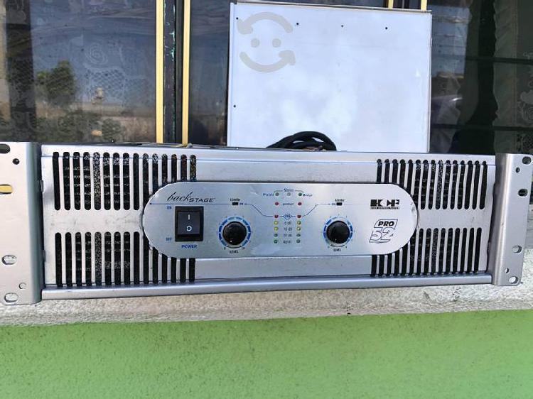 Poder amplificador backstage hcf pro 52