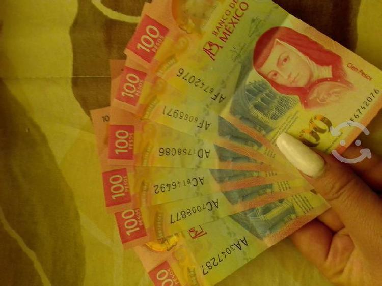 Billetes de $100 diferentes series