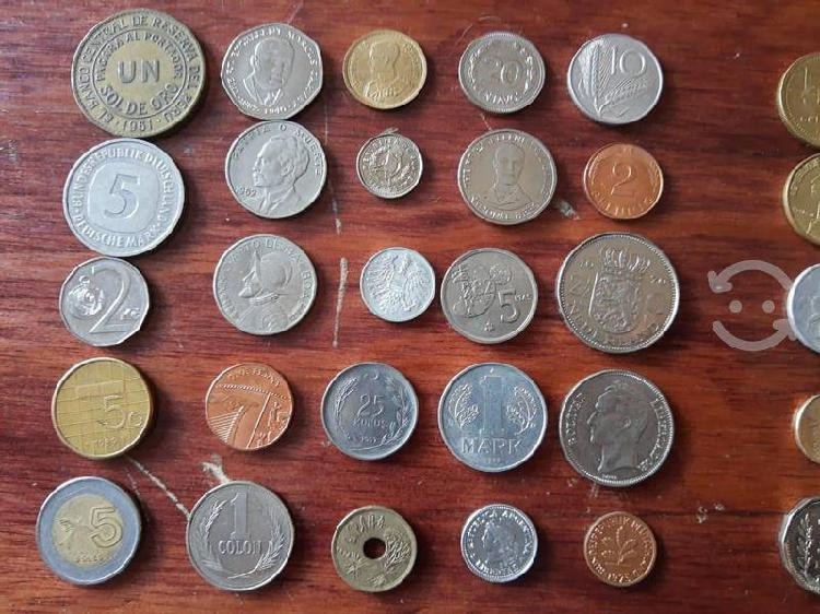 Lote monedas varios países