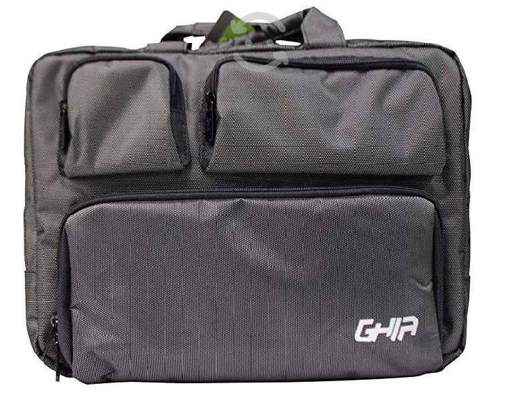 Maletin 3 en 1 ghia 15.6 negro mochila portafolio