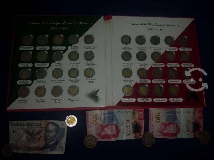 Monedas del centenario bicentenario