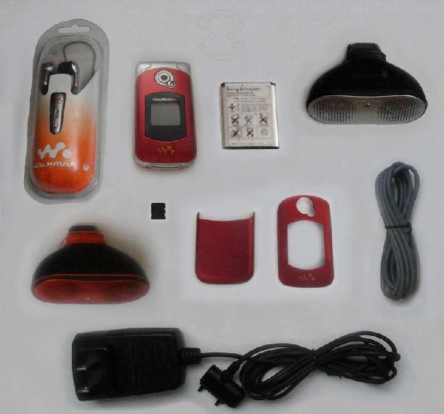 Sony ericsson w300 / w300i con 8 accesorios