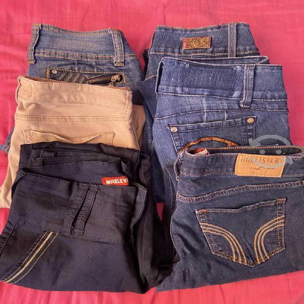 Pantalones originales marcas hollister tt blues