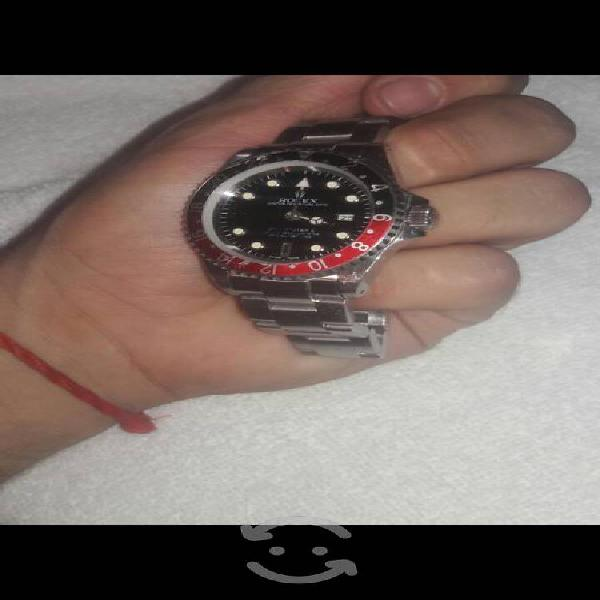 Reloj rolex, gmt master ii, versión cokecoca cola