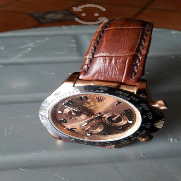 Reloj automatico rolex acero