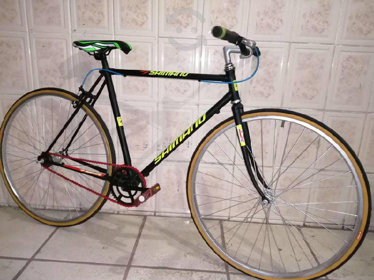 Bici rígida fixie rodado 26 con estrella libre