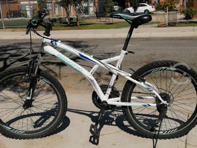 Bicicleta benotto fire-back rodado 24