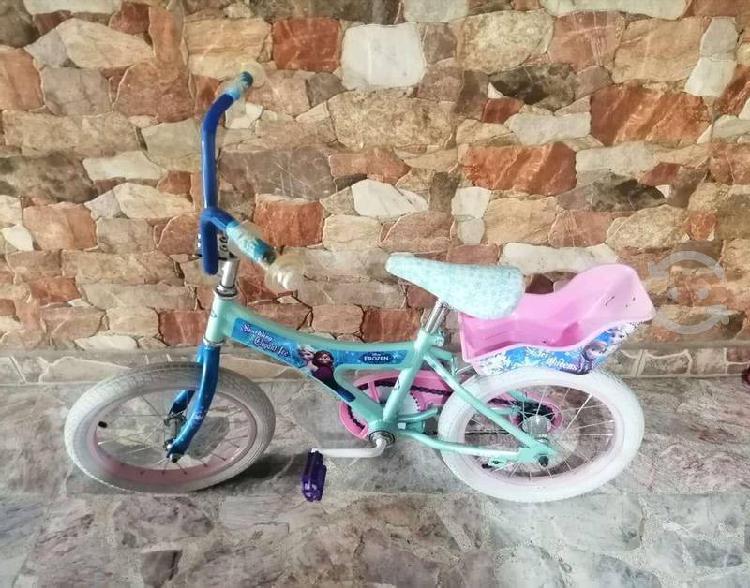 Bicicleta frozen r16