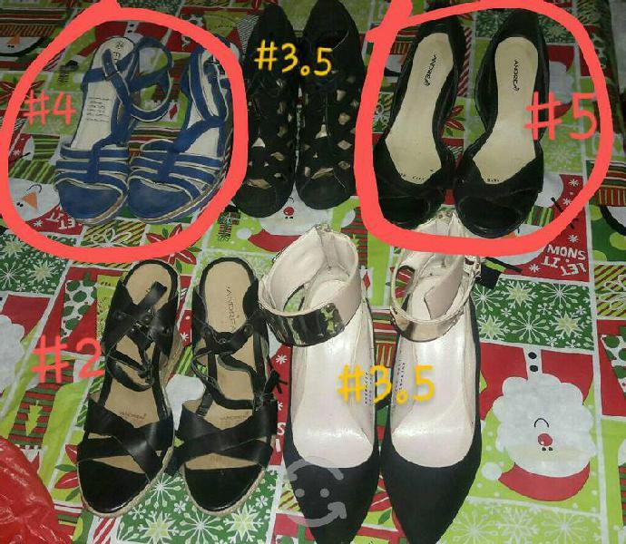 Lote de zapatos mujer (5 pares)