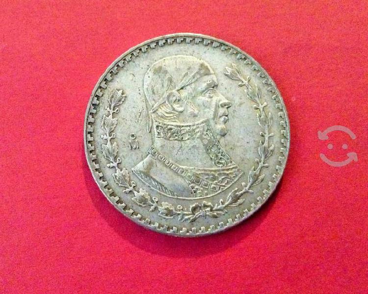 Monedas morelos tepalcate de plata 1957-1966