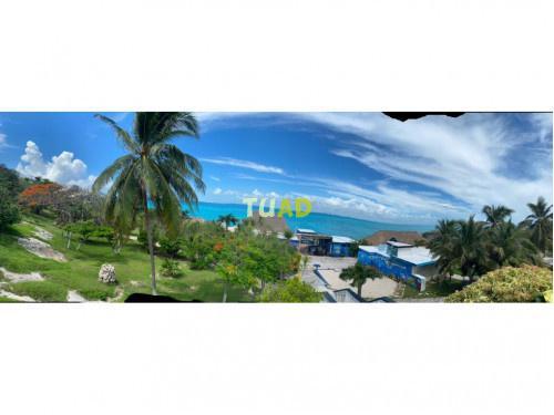 Terreno & club de playa