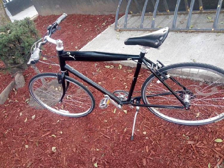 Bicicleta hibrida marca puma
