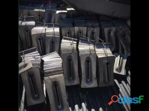 venta de cuñas metálicas metálicas