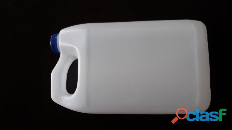 Garrafa tipo anticongelante 4 litros y 1 litro