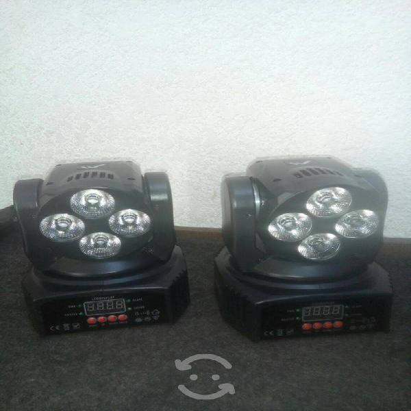 2 cabezas robóticas - de leds - (nuevas)