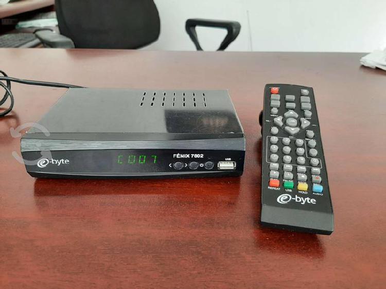 Decodificador de tv digital para canales hd