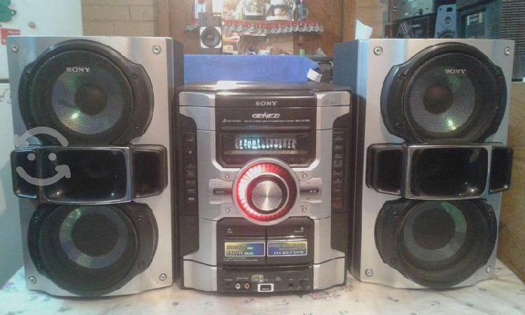 Estereo sony de 400 watts rms, mp3 y usb