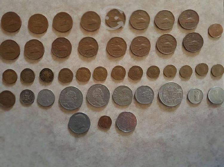 Fabulosa colección de monedas antiguas