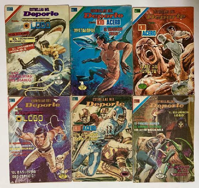 Kid acero comics vintage