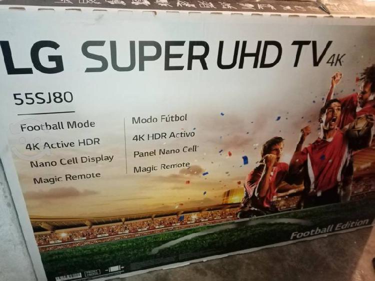 LG 55 4K ULTRA HD NANO CELL CONTROL MAGICO