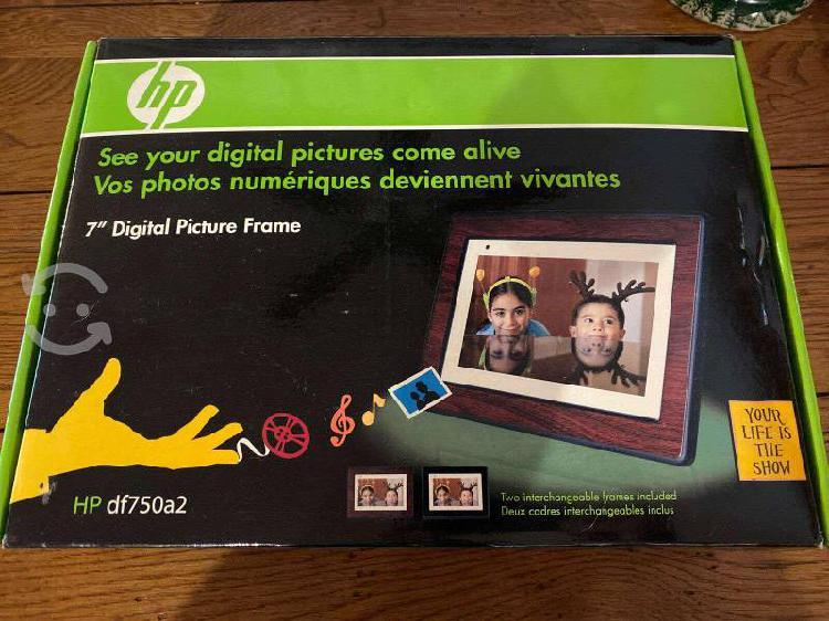 Marco digital hp nuevo