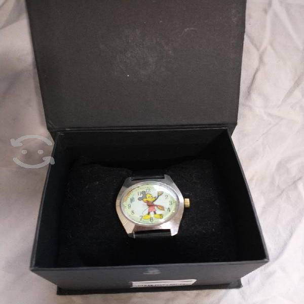 Reloj suizo original de mickey mouse 1990