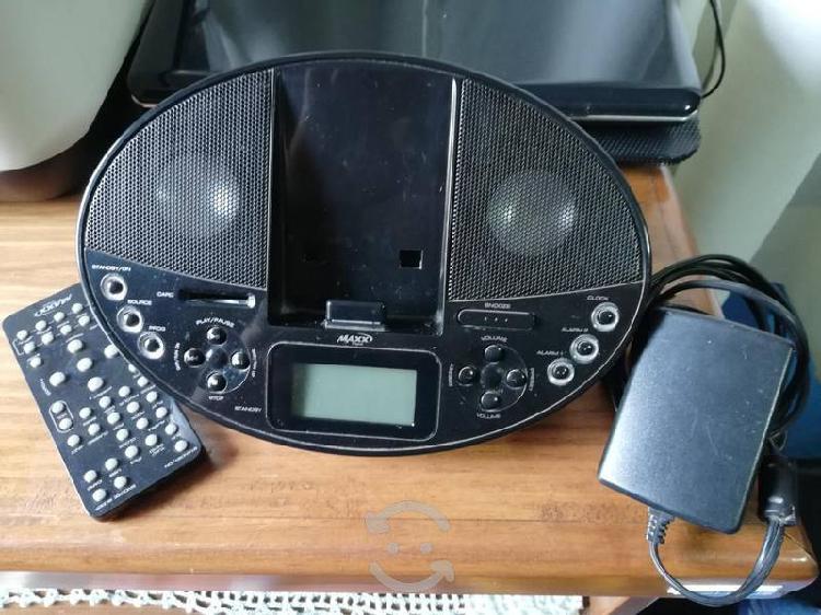 Reproductor de música y radio am/fm