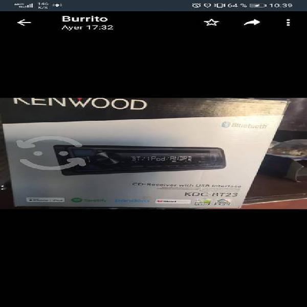 Stereo kenwood sin detalles