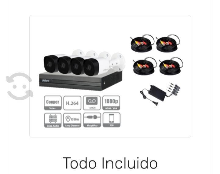 Camaras de seguridad cctv kit con disco duro