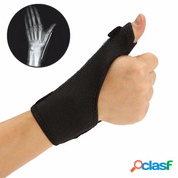 Muñeca pulgar soporte para la mano férula esguince artritis cinturón espiga alivio del dolor personal salud cuidado