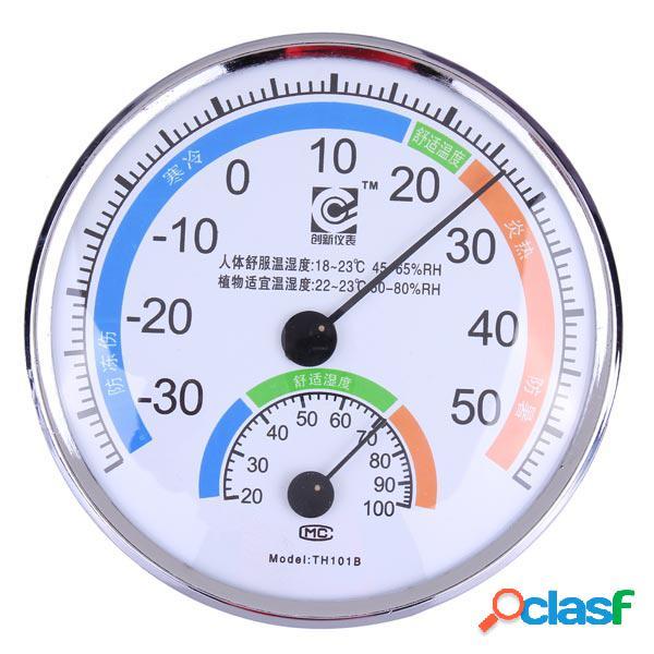 Termómetro medidor de clima higrómetro para laboratorio de oficinas interiores al aire libre
