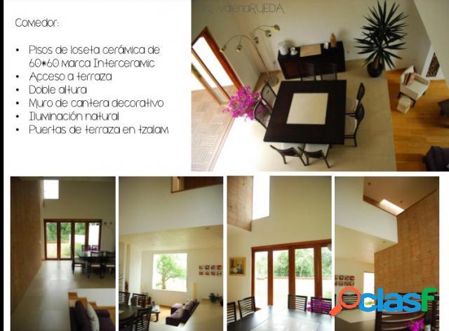 Casa sola residencial en renta en fraccionamiento lomas de angelópolis ii, san andrés cholula