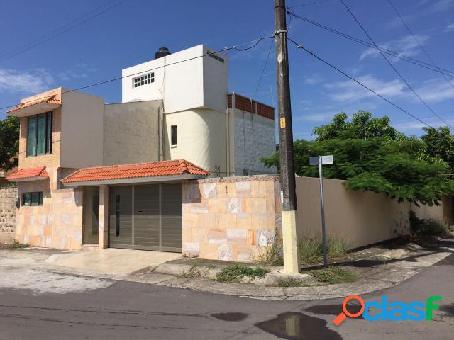 Casa sola residencial en venta en fraccionamiento geovillas del puerto, veracruz
