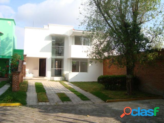 Casa sola en venta en equipamiento ciudad judicial, san andrés cholula
