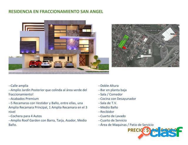 Casa sola residencial en venta en fraccionamiento vistas del ángel, san andrés cholula