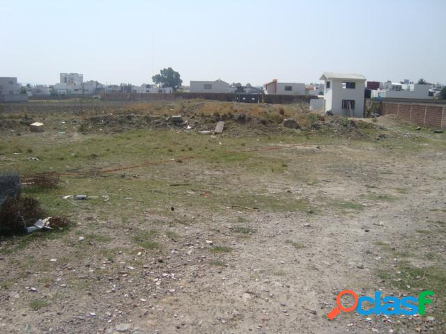 Terreno comercial en venta en conjunto habitacional de san andrés, san andrés cholula
